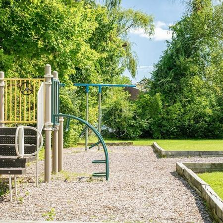 Playground available at our Lowell MA apartments for rent