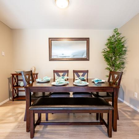Elegant Dining Room | 3 Bedroom Apartments Nashua Nh | Hilltop by Princeton Apartments