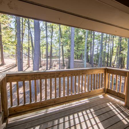 Spacious Apartment Balcony | 3 Bedroom Apartments Nashua NH | Hilltop by Princeton Apartments