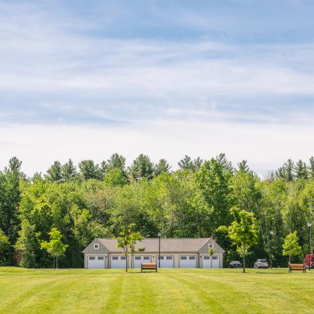 Beautifully Landscaped Grounds | Princeton Westford