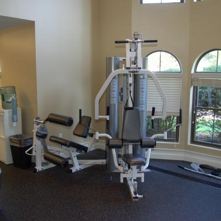 Convenient fitness center at our apartment homes for rent in Nashua