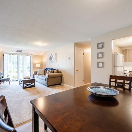 Elegant Living Area | Apartments Near Haverhill Ma | Princeton Bradford Apartments