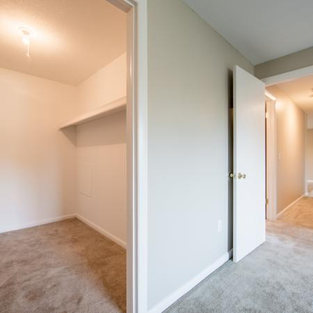 Spacious Closet | Apartments In Haverhill Ma For Rent | Princeton Bradford Apartments