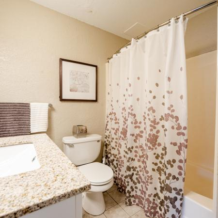 Spacious Bathroom | Apartments Near Haverhill Ma | Princeton Bradford Apartments