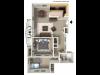 2 Bedroom, 1 Bathroom wBalcony Remodel