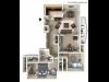 3 Bedroom, 1 Bathroom wBalcony Remodel