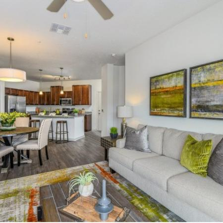 Elegant Living Room | Davenport Fl Apartments | Champions Vue Apartments