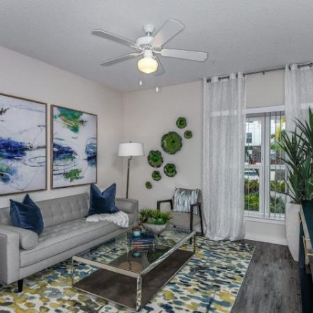 Elegant Living Room | Apartments For Rent In Sanford Fl | Lofts at Eden