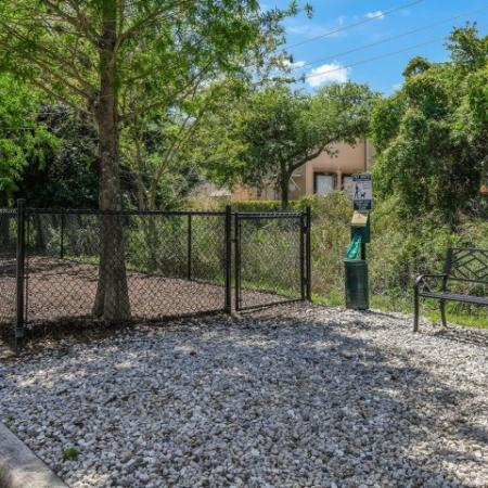 Fenced-in Courtyard | Apartments Sanford Fl | Lofts at Eden