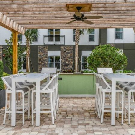 Resident BBQ | Apartments In Sanford Fl | Lofts at Eden