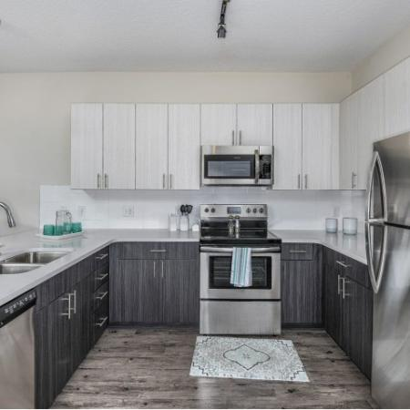 Modern Kitchen | Apartment For Rent In Sanford Fl | Lofts at Eden