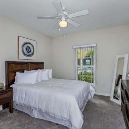 Luxurious Bedroom | Apartments In Sanford Fl | Lofts at Eden