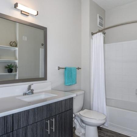 Ornate Bathroom | Apartments In Sanford Fl | Lofts at Eden
