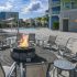 Resident Fire Pit | Clearwater FL Apartment For Rent | The Nolen