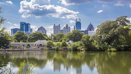 Piedmont Park in Atlanta | Modera Midtown