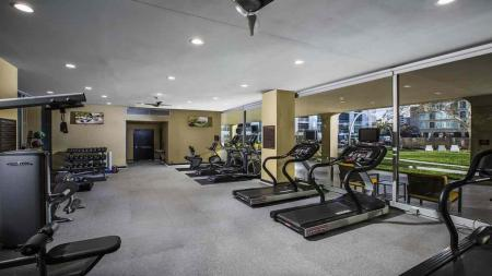Fitness Center Cardio Machines and Free Weights | The View at Waterfront