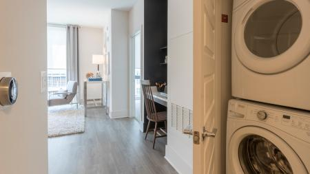 In-Home Full-Size Stackable Washer and Dryer | Modera Midtown