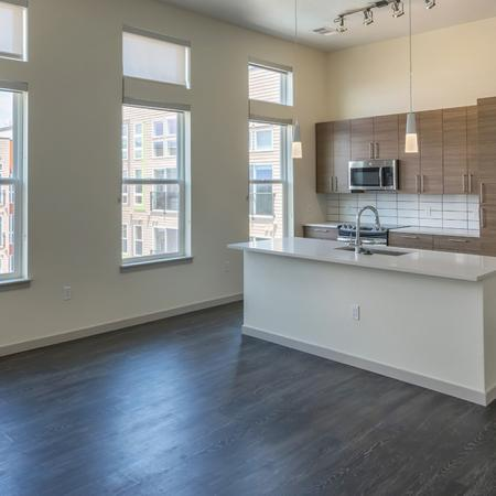 Oversized Windows in Kitchen Allows for Natural Light | Modera Observatory Park