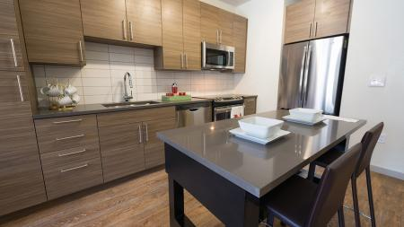 Open-Concept Kitchens and Ample Cabinet Space  Modera Observatory Park