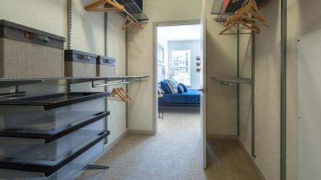 Container Store Closet Systems in Select Homes   Modera Observatory Park