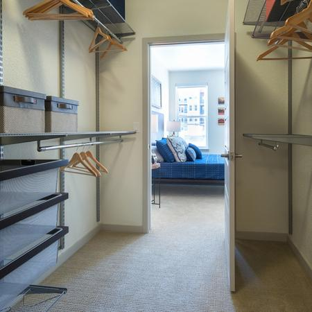 Container Store Closet Systems in Select Homes | Modera Observatory Park