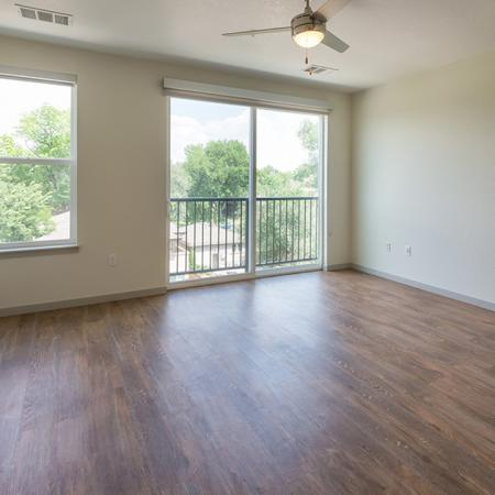 Wood Plank-Style Floors in our Apartment Homes | Modera Observatory Park