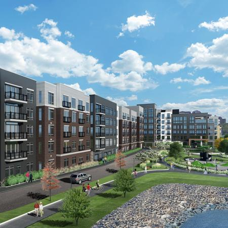 Modera Hudson Riverfront | Rendering | Yonkers, NY | Brand New Apartment Homes