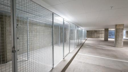 Resident Storage Spaces in Controlled Access Garage   Modera Observatory Park