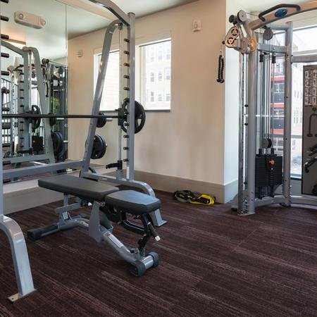 State-Of-The-Art Weight Machines and Benches| Modera Observatory Park