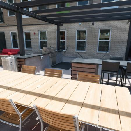 Outdoor Grilling and Dining Area | Modera Observatory Park