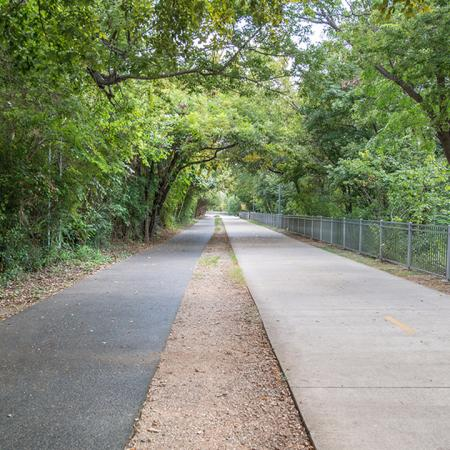 Seconds to Peaceful Walk Paths | Modera Turtle Creek | Dallas, TX | Brand New Apartment Homes
