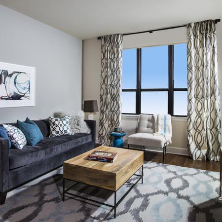 Modern Living Area with Oversized Windows | Modera Mosaic