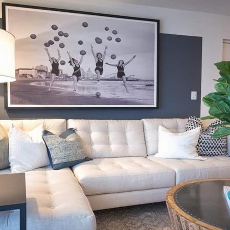 Spacious Living Room with Sectional Sofa | Alister Boca Raton