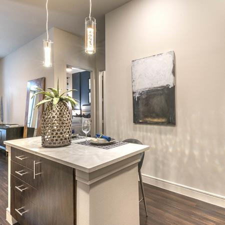 Full-Size Front-Loading Washer and Dryer in every Home | Modera Turtle Creek | Dallas, TX | Brand New Apartment Homes