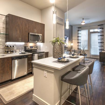 High-End Kitchen Finishes | Modera Turtle Creek | Dallas, TX | Brand New Apartment Homes