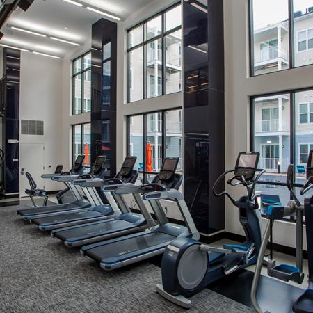Modera Parsippany | NJ | State-of-the-art, two-story, membership-class fitness facility with on-demand classes