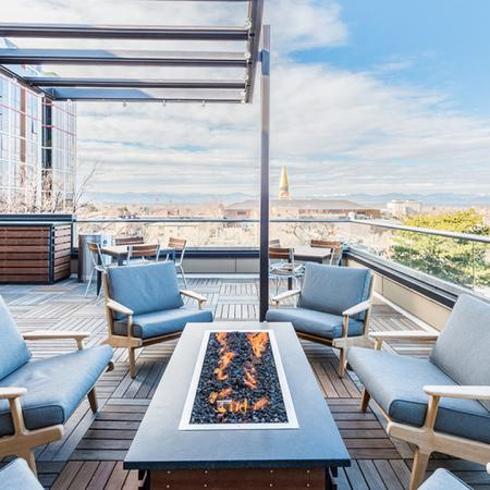 Multiple Outdoor Social Lounges | Modera Observatory Park
