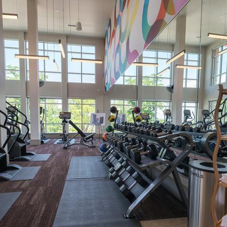 Club-Quality Fitness Center with Towel Bar | Modera Observatory Park
