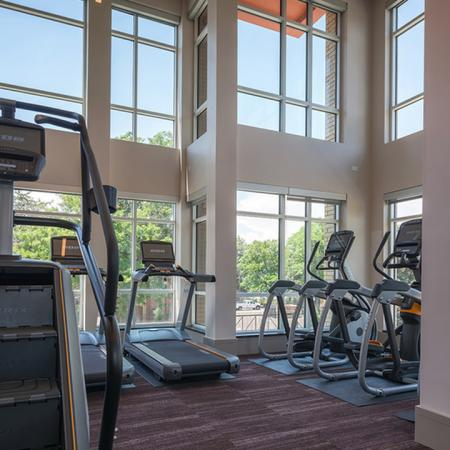 Top-Of-The-Line Cardio Machines in our Fitness Studio | Modera Observatory Park