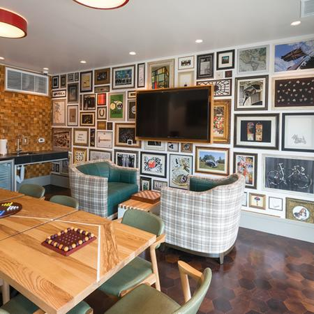 Game Room with Board Games, Mini Kitchen and Flat Screen Television | Modera Observatory Park