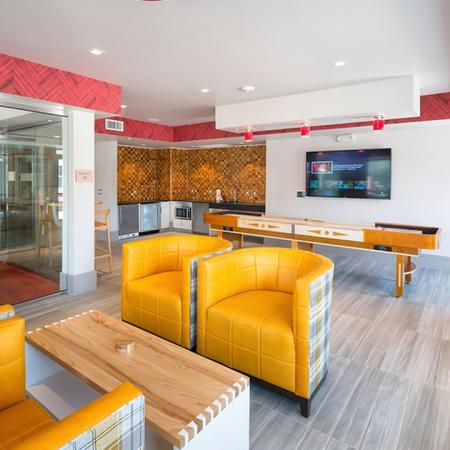 Upstairs Party Pod with Games, TV and Conference Room| Modera Observatory Park