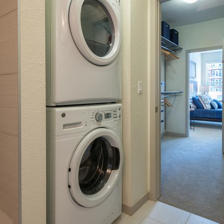 In-Home Full-Sized Stackable Washer and Dryer | Modera Observatory Park