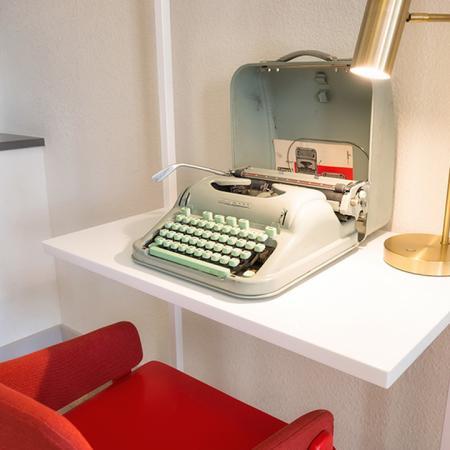 Workspace with Vintage Typewriter| Modera Observatory Park