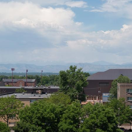 Mountain and City Views from our Balconies | Modera Observatory Park