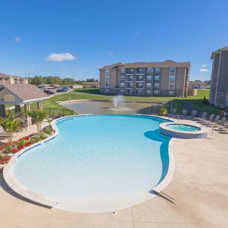 Swimming Pool | Apartments In Kansas City | The Retreat at Tiffany Woods