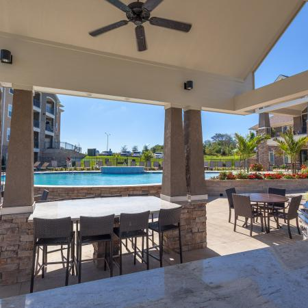 Community BBQ Grills | Apartments For Rent Kansas City Kansas | The Retreat at Tiffany Woods2