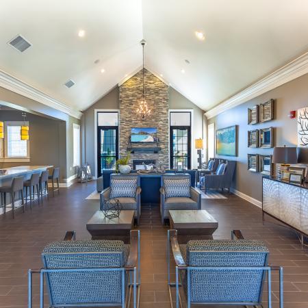 Spacious Community Club House | Kansas City Apartments | The Retreat at Tiffany Woods1