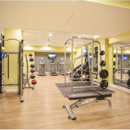 State-of-the-Art Fitness Center | Apartments In Kansas City Mo | The PowerLight Building