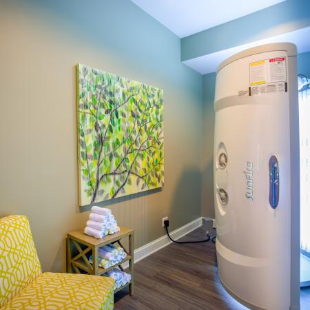 Resident Tanning Bed | Apartments Kansas City | The Retreat at Tiffany Woods