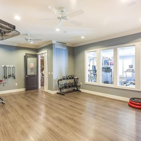 Cutting Edge Fitness Center | Apartments Kansas City MO | The Retreat at Tiffany Woods
